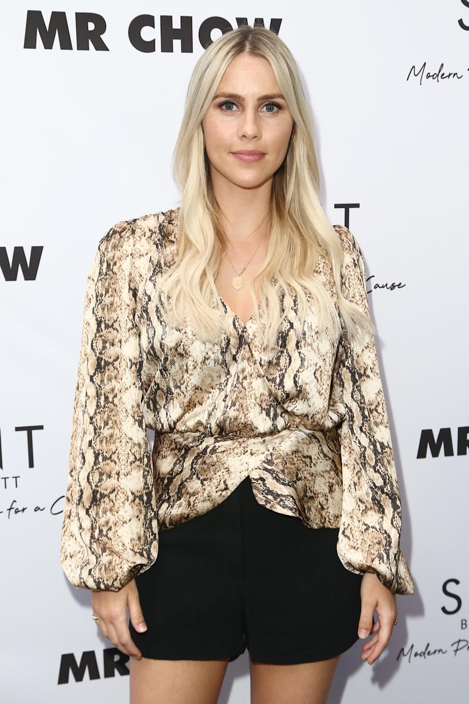 Claire Holt attends the Launch of SAINT Modern Prayer Candles For A Cause on June 12, 2019 in Beverly Hills, California.