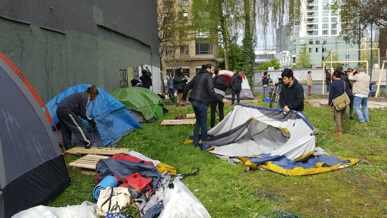 Vancouver applies for injunction to remove 'Ten Year Tent City'