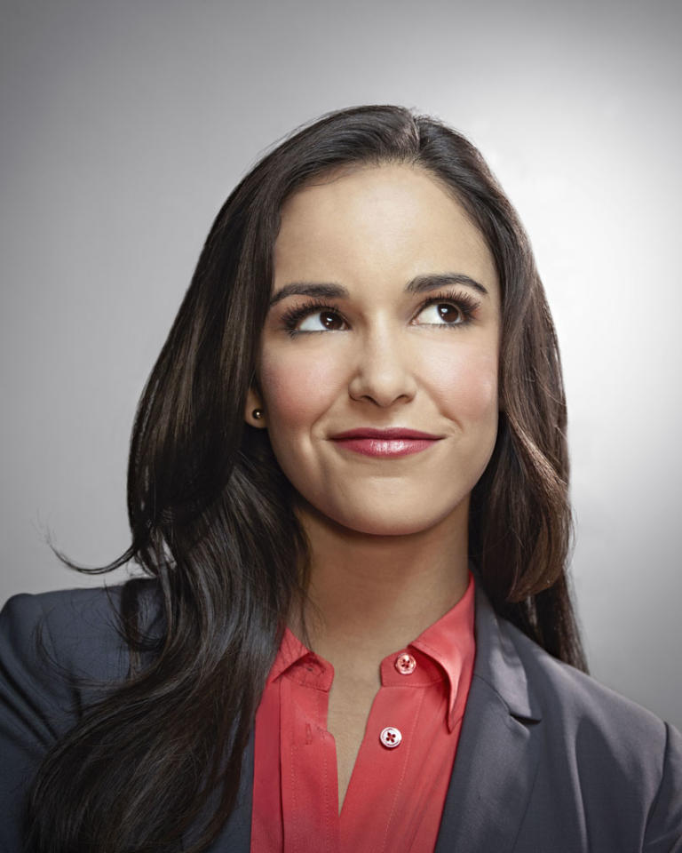 """Brooklyn Nine-Nine"": Melissa Fumero as Amy Santiago in the new single-camera workplace comedy ""Brooklyn Nine-Nine"" premiering this fall on FOX."