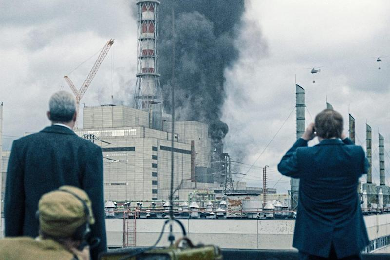 Catastrophe: hit TV series Chernobyl portrayed the devastation of the 1986 nuclear disaster, which was heightened by the Soviet Union's bid to cover up its failure: HBO