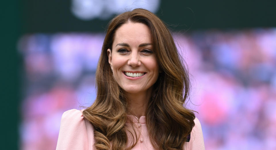 Kate Middleton congratulated Emma Raducanu after her winning performance at the US Open. (Getty Images)