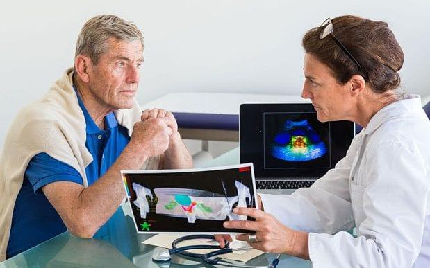prostate cancer - Copyright (c) 2014 Rex Features. No use without permission.