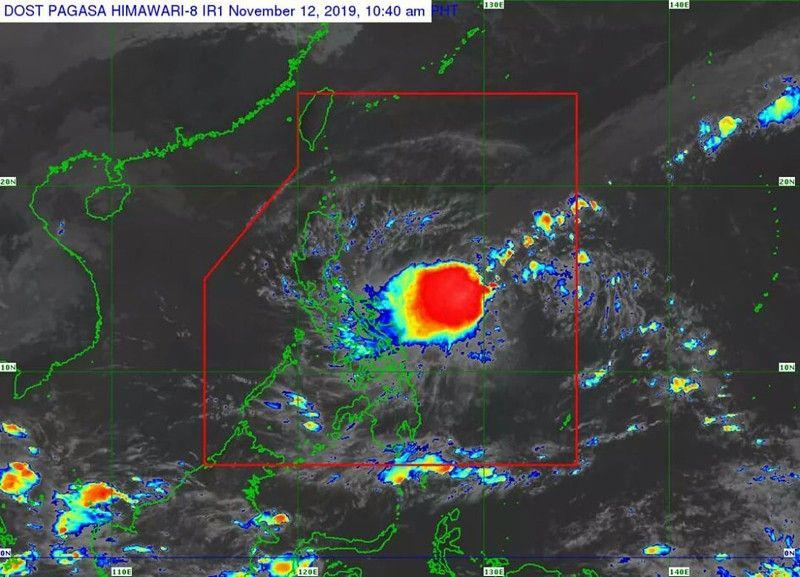 LPA develops into tropical depression