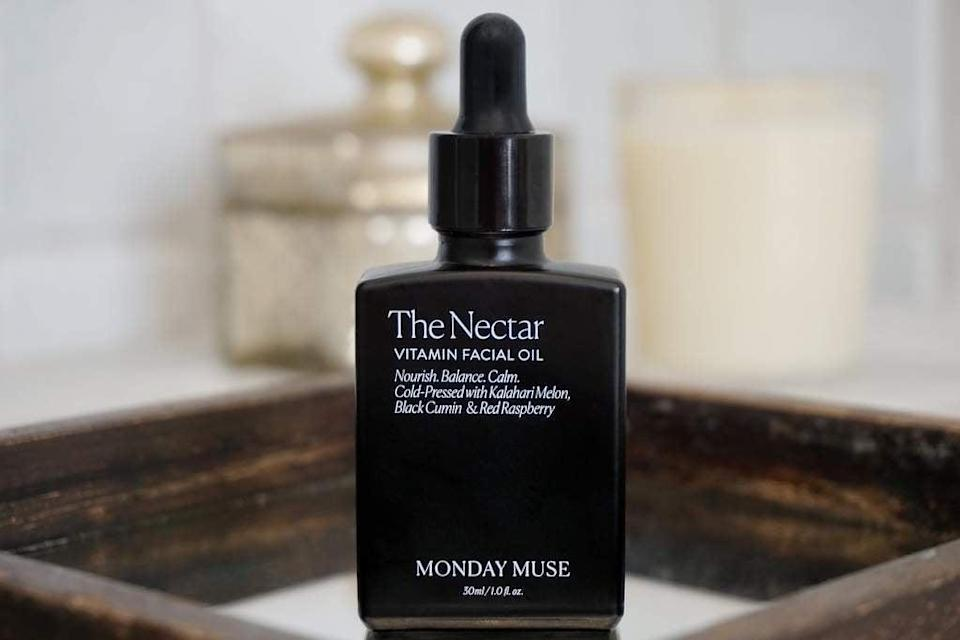 <p>The <span>Monday Muse The Nectar Vitamin Facial Oil</span> ($48) is perfect for sensitive and acne-prone skin types because it's fragrance-free, essential oil-free, and vegan-friendly, as well as formulated with linoleic acid to fight breakouts.</p>
