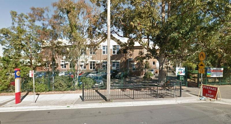 The incident occurred at the polling place at Bankstown Public School.