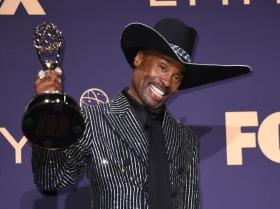 Billy Porter becomes first openly gay black man to win Emmys 2019 Outstanding Lead Actor in Drama