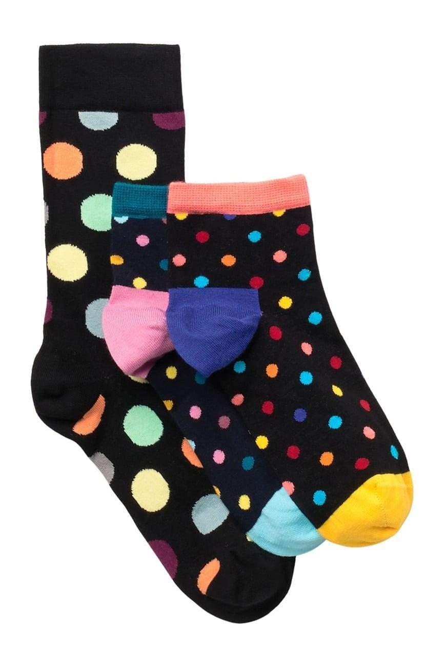 <p>Add some playfulness to his socks with these <span>Happy Socks Big Dot Ankle Socks</span> ($13).</p>