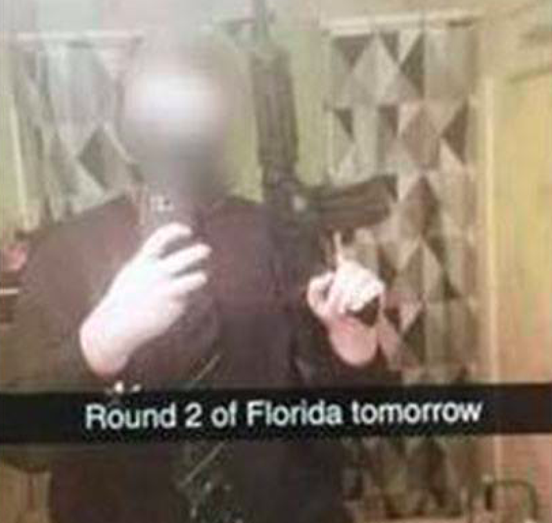 A false threat that started in South Carolina one day after the school shooting in South Florida quickly spread to other states. (Facebook)