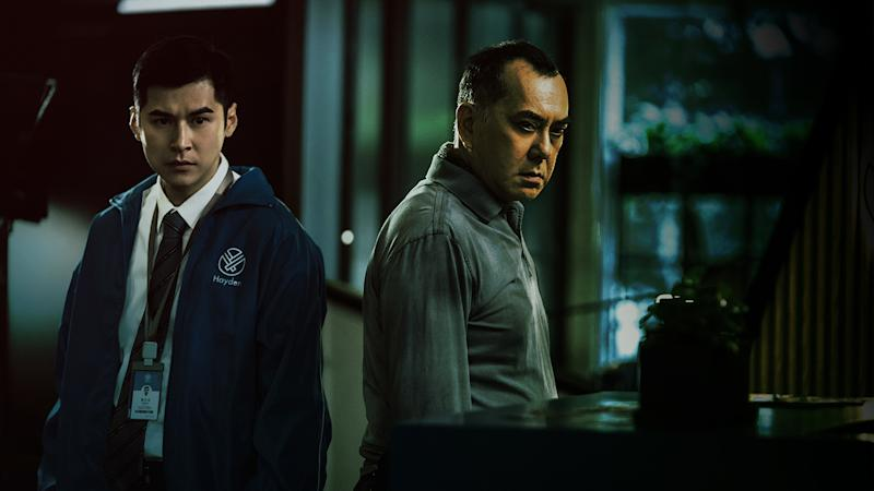 Carlos Chan (left) and Anthony Wong in Legally Declared Dead. (Photo: mm2 Entertainment)