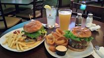 """<p><a href=""""http://www.yelp.com/biz/o-briens-sports-bar-nashua"""" rel=""""nofollow noopener"""" target=""""_blank"""" data-ylk=""""slk:O'Brien's Sports Bar"""" class=""""link rapid-noclick-resp"""">O'Brien's Sports Bar</a>, Nashua </p><p>""""Great buffalo wings and, hands down, the best burger in Nashua. You can build your own and choose from a huge variety of toppings, they're always perfectly cooked, and to top it off the service has always been great. Can't recommend this place enough."""" - Yelp user <a href=""""https://www.yelp.com/user_details?userid=73lMQFqq1IvKE4Pj94MQBA"""" rel=""""nofollow noopener"""" target=""""_blank"""" data-ylk=""""slk:Jeremy H."""" class=""""link rapid-noclick-resp"""">Jeremy H.</a></p>"""
