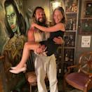 """<p>Continuing to delight Thrones fans are Emilia Clarke and Jason Momoa, who reunited recently. Sharing a photo to Instagram, Clarke revealed that she and Drogo (Momoa) met up for drinks and confirmed that, yes, he can still bench press her. </p><p>Referring to Momoa as her 'sun and stars', the Aquaman actor returned the compliment with an astronomy themed response: 'Love u forever, moon of my life.'</p><p><a href=""""https://www.instagram.com/p/CSllDC7sLij/"""" rel=""""nofollow noopener"""" target=""""_blank"""" data-ylk=""""slk:See the original post on Instagram"""" class=""""link rapid-noclick-resp"""">See the original post on Instagram</a></p>"""