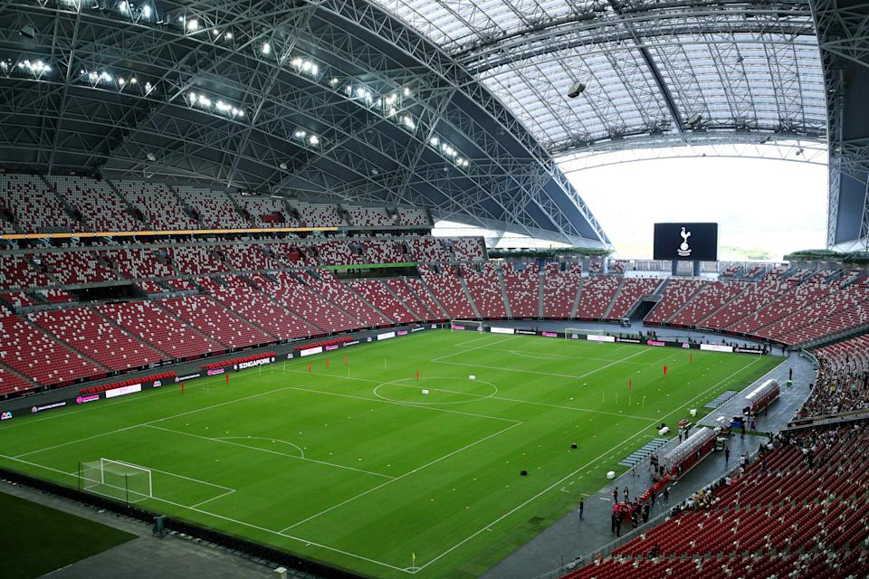 Singapore National Stadium. Foto: Tottenham Hotspur FC via Getty Images
