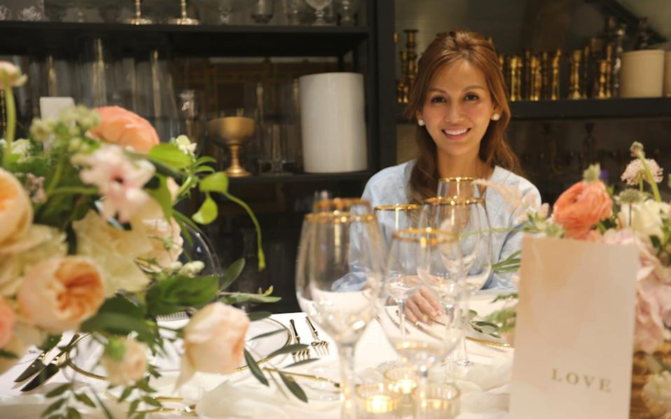 Lelian Chew, the wedding planner that the super-rich of Asia call for her skills - Television Stills