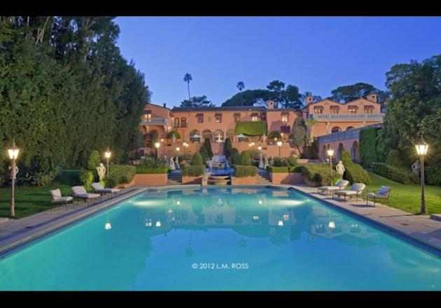 The Beverly House. Click either photo to see other Beverly Hills homes.