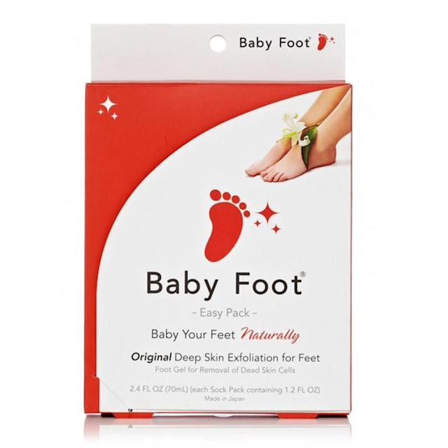 Should you be using Baby Foot to get rid of dead skin cells? (Photo: Baby Foot)