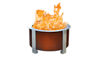 """<p><strong>Breeo</strong></p><p>breeo.co</p><p><strong>$579.00</strong></p><p><a href=""""https://breeo.co/products/x-series-24-smokeless-fire-pit"""" rel=""""nofollow noopener"""" target=""""_blank"""" data-ylk=""""slk:Shop Now"""" class=""""link rapid-noclick-resp"""">Shop Now</a></p><p>The Breeo X Series was designed with durability in mind — each fire pit is made from steel in Lancaster, Pennsylvania, and you can choose between a classic stainless steel finish or corten steel, which is <strong>designed to be left out in the elements and develop a natural reddish patina.</strong> These fire pits have a simple, rustic design, deep basins, and an internal airflow system to keep smoke to a minimum. Breeo also offers a variety of accessories for the pits, including a grilling package and an insert ring for adding to an existing concrete or stone fire pit. Choose between the smaller <a href=""""https://breeo.co/products/x-series-19-smokeless-fire-pit"""" rel=""""nofollow noopener"""" target=""""_blank"""" data-ylk=""""slk:X Series 19"""" class=""""link rapid-noclick-resp"""">X Series 19</a> for 2-4 people or the larger <a href=""""https://breeo.co/products/x-series-24-smokeless-fire-pit"""" rel=""""nofollow noopener"""" target=""""_blank"""" data-ylk=""""slk:X Series 24"""" class=""""link rapid-noclick-resp"""">X Series 24</a> for 3-7 people.</p>"""