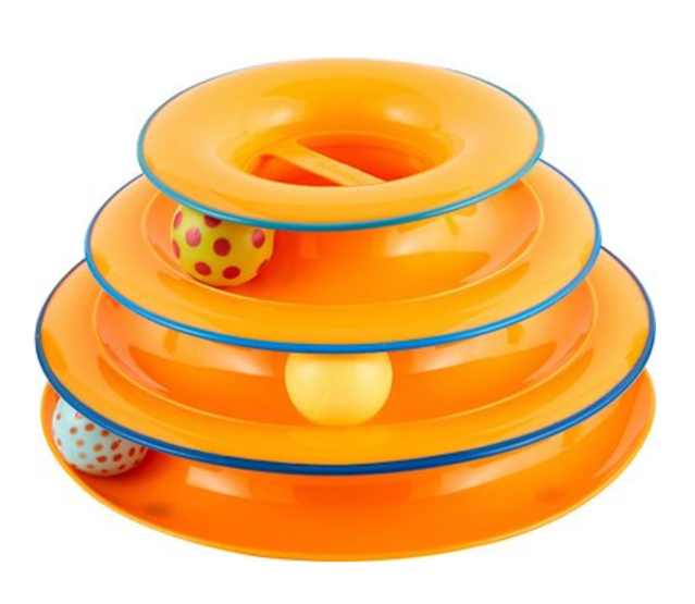 Petstages Tower of Tracks Cat Toy (Photo: Chewy)