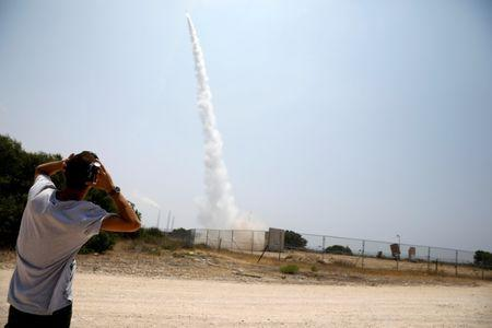 Israel retaliates to Gaza shelling barrage with 'massive' air strikes