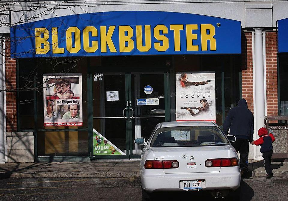 "<p>Blockbuster CEO John Antioco turned down an offer from Netflix CEO Reed Hastings to buy the service for $50 million.<span class=""redactor-invisible-space""> The rental company later attempted their own DVD-by-mail and on-demand offerings which failed to catch on. As of 2017, there were around 10 <a href=""https://www.goodhousekeeping.com/life/inspirational-stories/news/a43901/parents-build-autistic-son-home-blockbuster/"" rel=""nofollow noopener"" target=""_blank"" data-ylk=""slk:Blockbuster stores"" class=""link rapid-noclick-resp"">Blockbuster stores</a> still in operation.</span></p>"