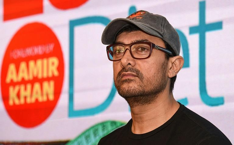Muslim Bollywood star Aamir Khan was accused of being a China favourite by a hardline Hindu group