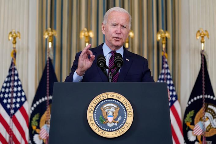 """The """"uncertainty and risk"""" around the debt ceiling is """"going to harm American families and the economy,"""" President Joe Biden warns. """"Let us vote and end the mess."""""""