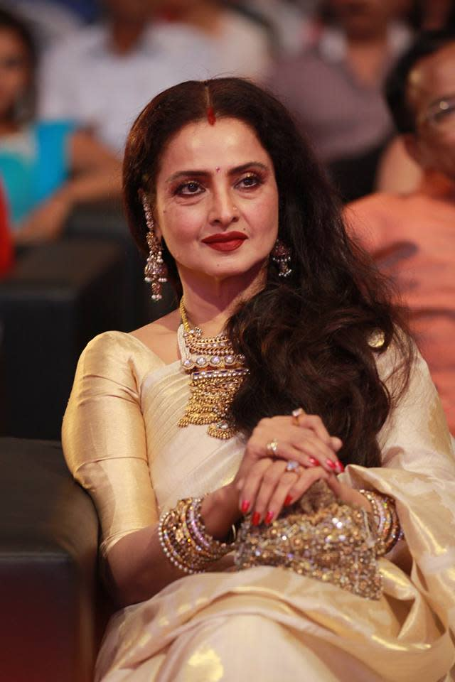"""<p>Begum Hazrat Jaan was a multi-layered character, and Tabu essayed the role immaculately. But the original choice for this role in Fitoor was Rekha who also shot many significant scenes before walking out of it. Though gossip mongers believed that the character hit very close to home for Rekha, filmmaker Abhishek Kapoor stated, """"When we started, Rekhaji was doing the film. She is a wonderful, gracious and loving lady. During the course of the film, we saw things differently. We felt that it's best not to do this film together. We can work on something else in the future. But when reports like this come out, it is not fair to her."""" </p>"""