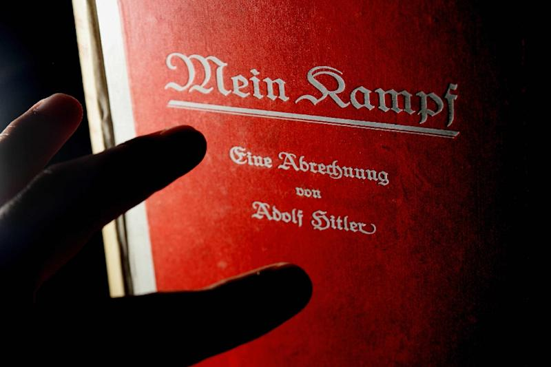 """Mein Kampf"" falls into the public domain on January 1 when the copyright expires (AFP Photo/Carl de Souza)"
