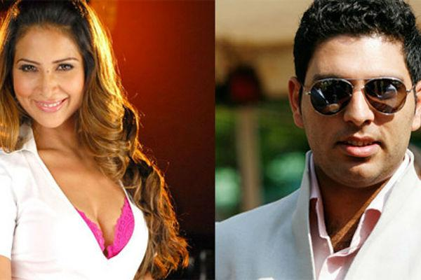 <b>4. Yuvraj Singh and Kim Sharma</b><br><br>Yuvraj Singh and Kim Sharma were one of the most talked about couple of recent times and the two were together for quite a long time. Sadly the couple split due to differences and both went on to have other affairs. Kim Sharma is ,today, married to Ali Punjani, a wealthy businessman from Kenya.