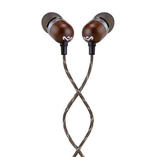 """<p><strong>House of Marley</strong></p><p>amazon.com</p><p><strong>$24.66</strong></p><p><a href=""""https://www.amazon.com/dp/B00G3P9UMU?tag=syn-yahoo-20&ascsubtag=%5Bartid%7C10055.g.33598763%5Bsrc%7Cyahoo-us"""" rel=""""nofollow noopener"""" target=""""_blank"""" data-ylk=""""slk:Shop Now"""" class=""""link rapid-noclick-resp"""">Shop Now</a></p><p>This brand sells decently-priced headphones and speakers if you're looking to snag some on a budget. These <a href=""""https://www.goodhousekeeping.com/electronics/headphone-reviews/g2103/best-in-ear-headphones/"""" rel=""""nofollow noopener"""" target=""""_blank"""" data-ylk=""""slk:in-ear headphones"""" class=""""link rapid-noclick-resp"""">in-ear headphones</a> for instance, are <strong>noise-cancelling and cost just $25</strong> — that's a pretty amazing deal for such a feature. Reviewers love the stylish design and rave about the sound quality. </p>"""