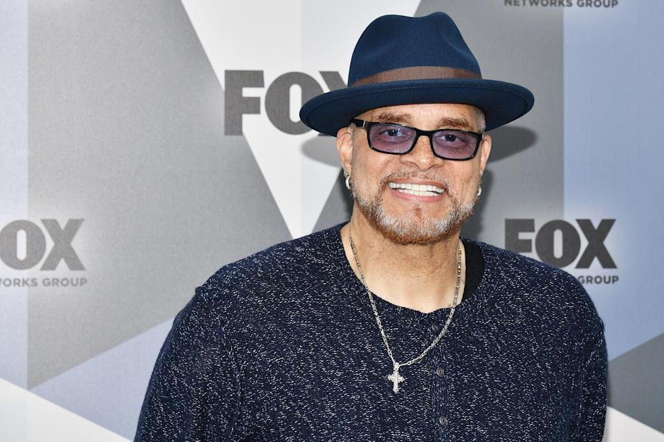 Comedian Sinbad attends the 2018 Fox Network Upfront on May 14, 2018. (Photo by Dia Dipasupil/Getty Images)