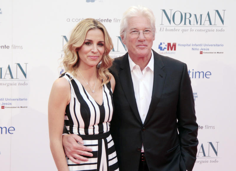 Richard Gere 'set to become a father again with wife Alejandra Silva'