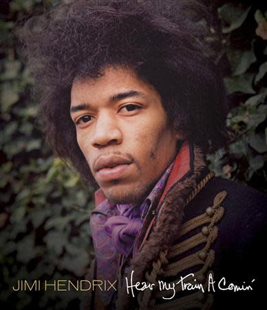 "Handout shows the cover of ""Jimi Hendrix - Hear My Train A Comin"" DVD"