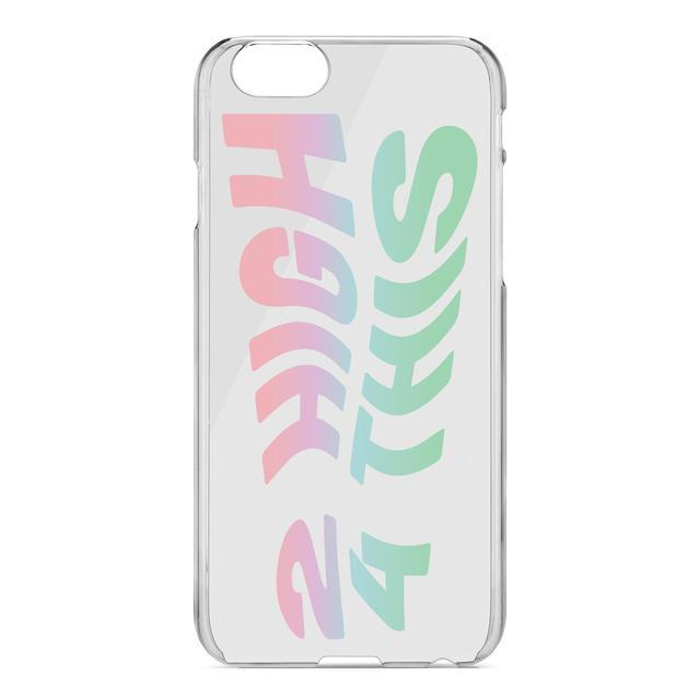 <p>For vertigo sufferers, there is always this '2 High 4 This' phone case. Copyright: [Kimoji] </p>