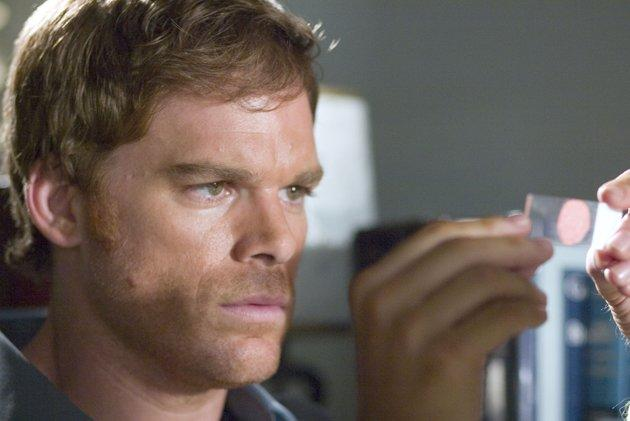 """Michael C. Hall The show almost didn't go back on. If the reports are true, the """"Dexter"""" star was holding out from filming Season 7 over a dispute with his contract. The actor wanted $24 million for two seasons, which would give him a cool million an episode. Showtime came up with $20 million, which is still a generous $800,000 per episode. We assume, with the season in production, all's well that ends with a raise. (AP Photo/Showtime, Peter Iovino)"""