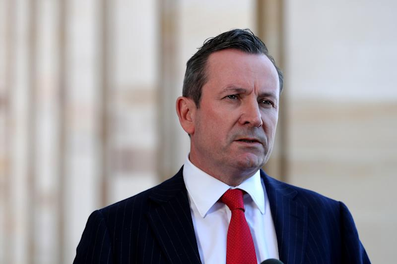 Premier of Western Australia Mark McGowan ssaid 25 people arrived from New Zealand, despite the state being exempt from the travel bubble. Source: AAP