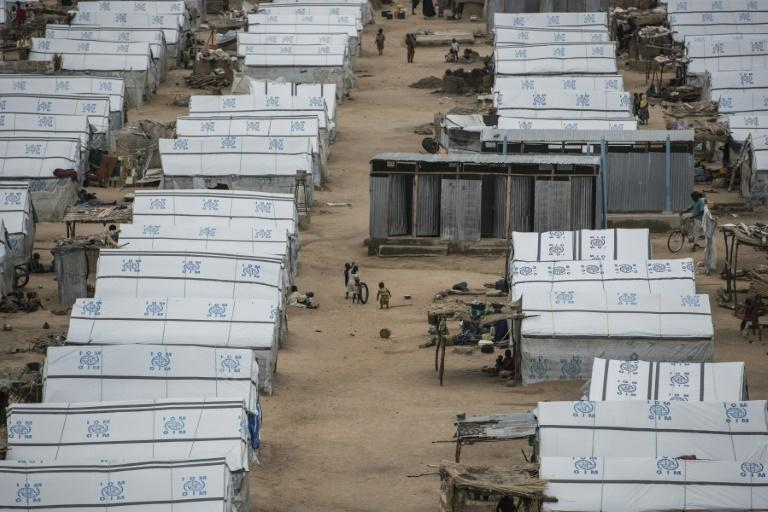 Pulka is built like a military base so soldiers can protect satellite camps and humanitarian agencies can distribute aid