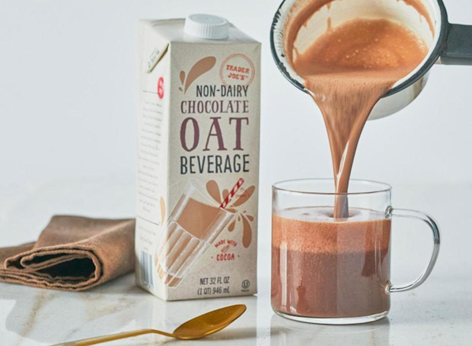 trader joes non dairy chocolate oat