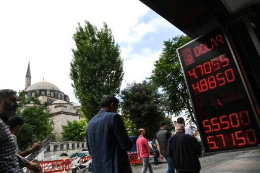 Turkey's lira rallies after emergency rate hike
