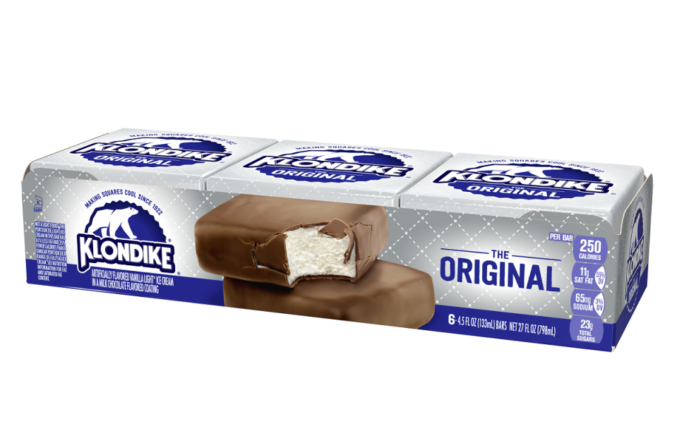 """<p>""""What would you doooo for a Klondike Bar?"""" is one of <a href=""""https://www.thedailymeal.com/eat/15-food-and-drink-slogans-you-ll-never-forget-slideshow?referrer=yahoo&category=beauty_food&include_utm=1&utm_medium=referral&utm_source=yahoo&utm_campaign=feed"""" rel=""""nofollow noopener"""" target=""""_blank"""" data-ylk=""""slk:the most famous food slogans of all time"""" class=""""link rapid-noclick-resp"""">the most famous food slogans of all time</a>, and it's likely you'll hear it said in Maryland, where a Klondike Bar is the top ice-cream-truck treat.</p>"""