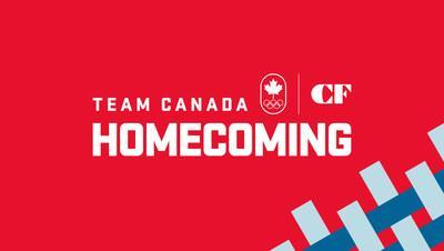 Team Canada X Cadillac Fairview Homecoming (CNW Group/Cadillac Fairview Corporation Limited)