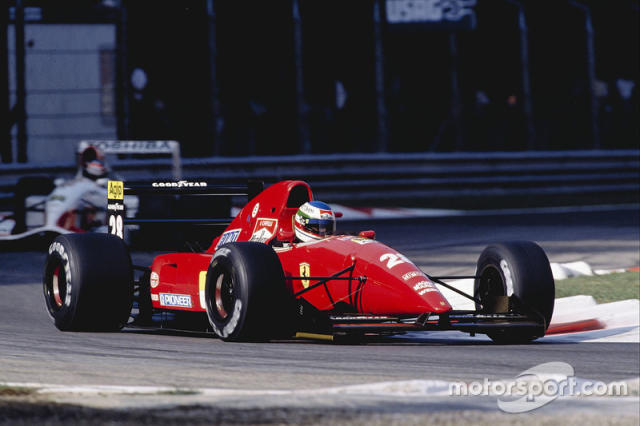 "1992: Ferrari F92AT <span class=""copyright"">LAT Images</span>"