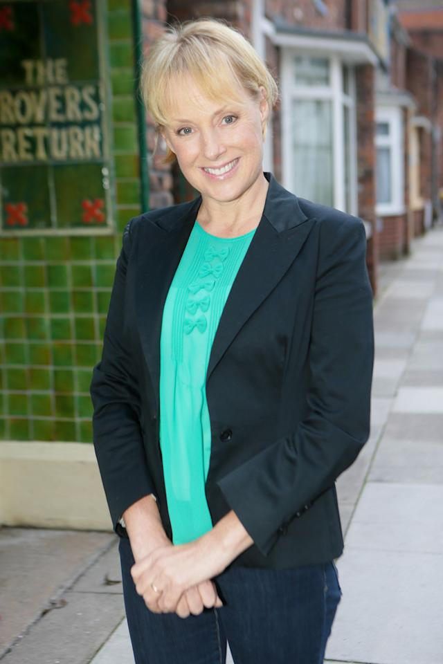 Sally Dynevor discovered she had breast cancer following a check-up prompted by her character finding out she had the disease. (ITV)