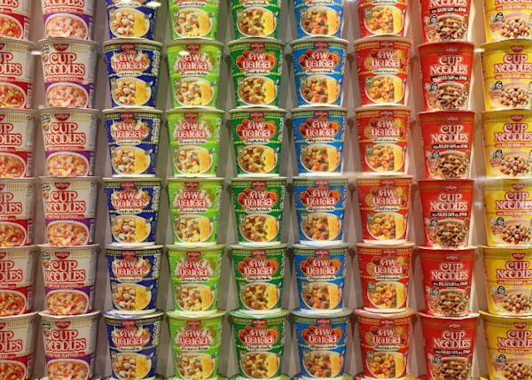Cup Noodles of the World