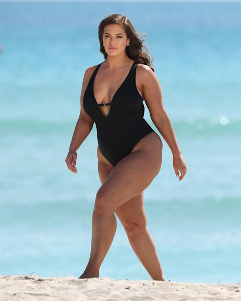 Ashley Graham's latest Swimsuits for All campaign just came out—and none of the images has been retouched. See the full unretouched photo shoot here.