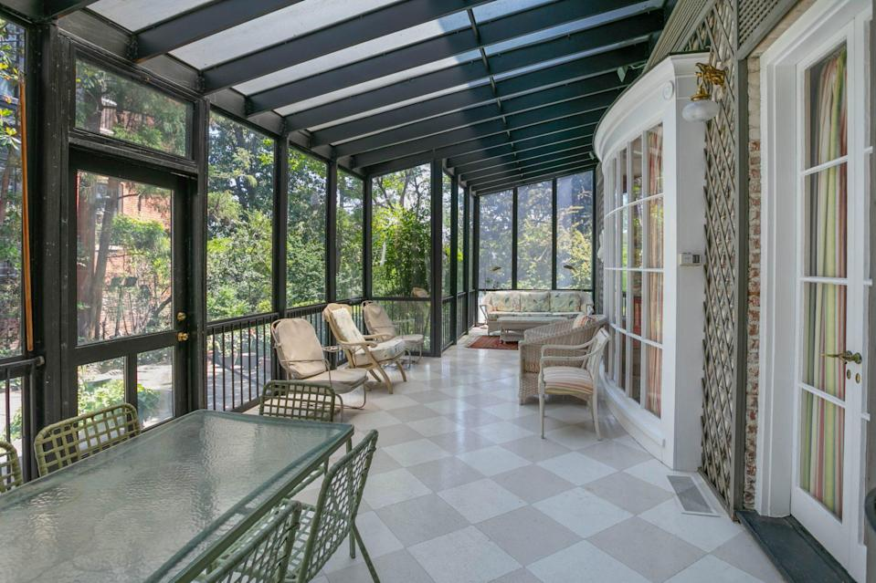 <p>Escape the hot summer days in one of the newer additions to the home.</p>