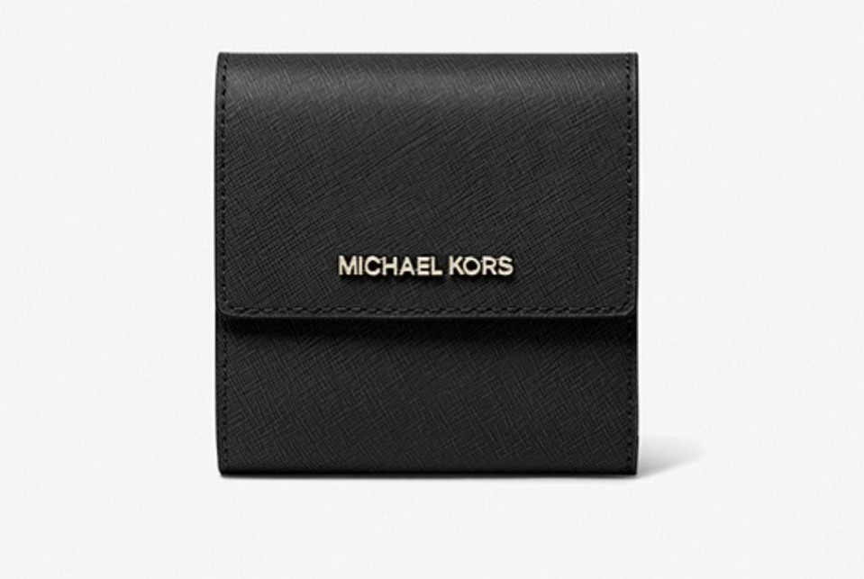 Jet Set Small Leather Card Case. (PHOTO: Michael Kors)