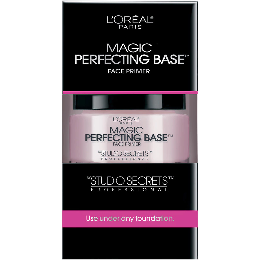 "<p><strong>L'Oréal Paris</strong></p><p>lorealparisusa.com</p><p><strong>$12.95</strong></p><p><a href=""http://www.lorealparisusa.com/Products/Makeup/Face/Primer/Studio-Secrets-Professional-Magic-Perfecting-Base.aspx"" rel=""nofollow noopener"" target=""_blank"" data-ylk=""slk:Shop Now"" class=""link rapid-noclick-resp"">Shop Now</a></p><p>Just like magic, L'Oréal's primer covers pores and any fine lines with a matte, smooth-as-silk finish. You only need a little bit, too, before you start seeing a blurred-out look. </p>"