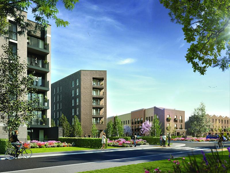 A £1bn London rental homes portfolio is planned by a new joint venture
