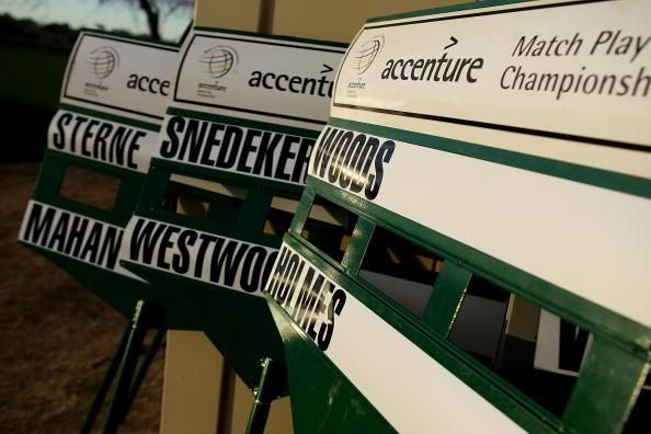 Accenture, another company under the global category has a revenue of $27.4 billion .  It is a multinational management consulting, technology services and outsourcing company and is the world's largest consulting firm by revenue. Accenture also sponsors an international event called the Accenture Match Play Championship (seen in picture), part of the World Golf Championships, every year since 1999. Photo: Getty Images
