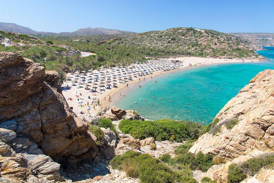 """<p>Thanks to Greek mythology, Crete has been immortalized as a mystical island that was the birthplace of King Zeus. Besides history and folklore, Crete offers some of the world's most swoon-worthy beaches and views of the Aegean. </p><p>Opening this June, <a href=""""https://theroyalsenses.troulisroyalcollection.com/"""" rel=""""nofollow noopener"""" target=""""_blank"""" data-ylk=""""slk:The Royal Senses Resort & Spa Crete, Curio Collection by Hilton"""" class=""""link rapid-noclick-resp"""">The Royal Senses Resort & Spa Crete, Curio Collection by Hilton</a> offers a haven for families, couples, and solo travelers alike seeking private beaches, incredible gastronomic experiences, and all the sights and sounds of this enchanting isle. </p>"""